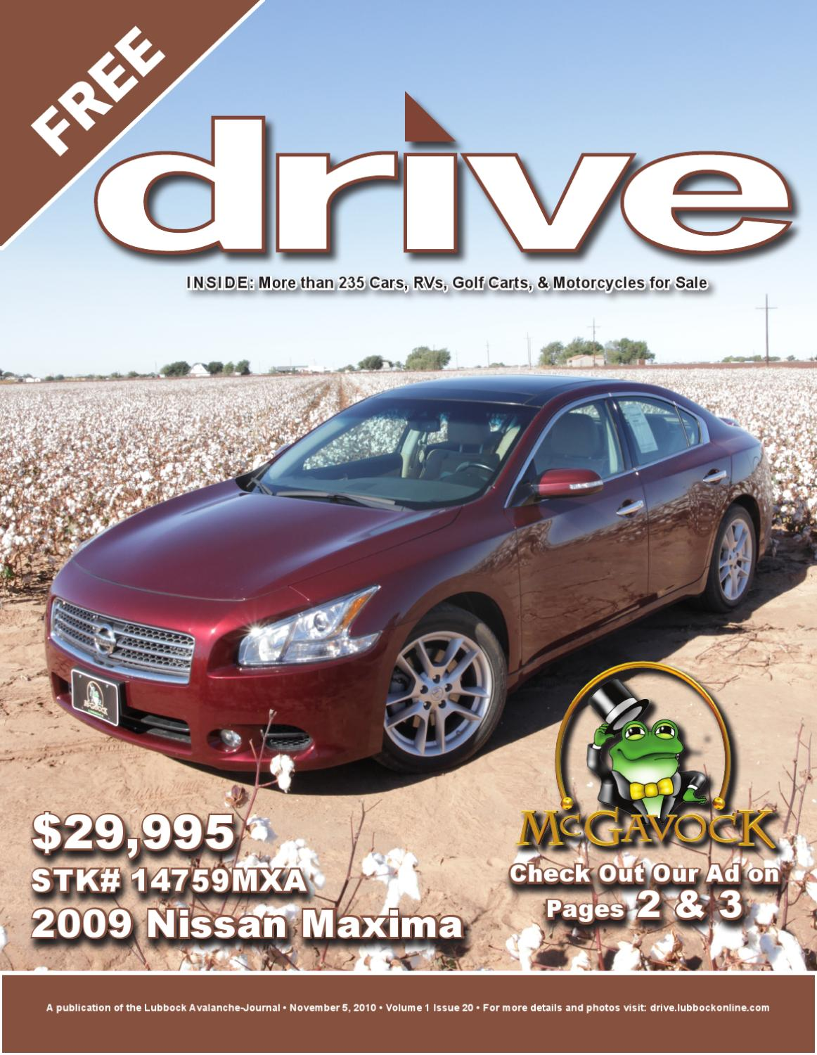 Drive Vol 1 Issue 2011 05 10 By Lubbock Avalanche Journal Issuu Buick Rendezvous Cxl 2002 Electric Seat Issues
