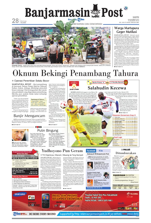 Banjarmasin Post - Edisi Sabtu e176f36b34