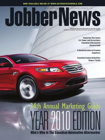 Jobber News 2010 Annual Marketing Guide by Annex Business