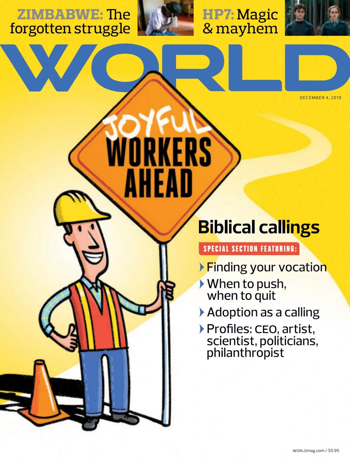 Biblical callings by God's World Publications - issuu