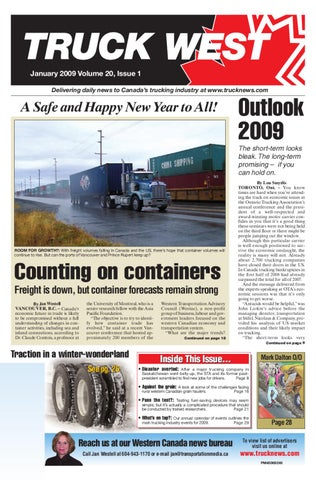 Truck West January 2009 by Annex Business Media - issuu