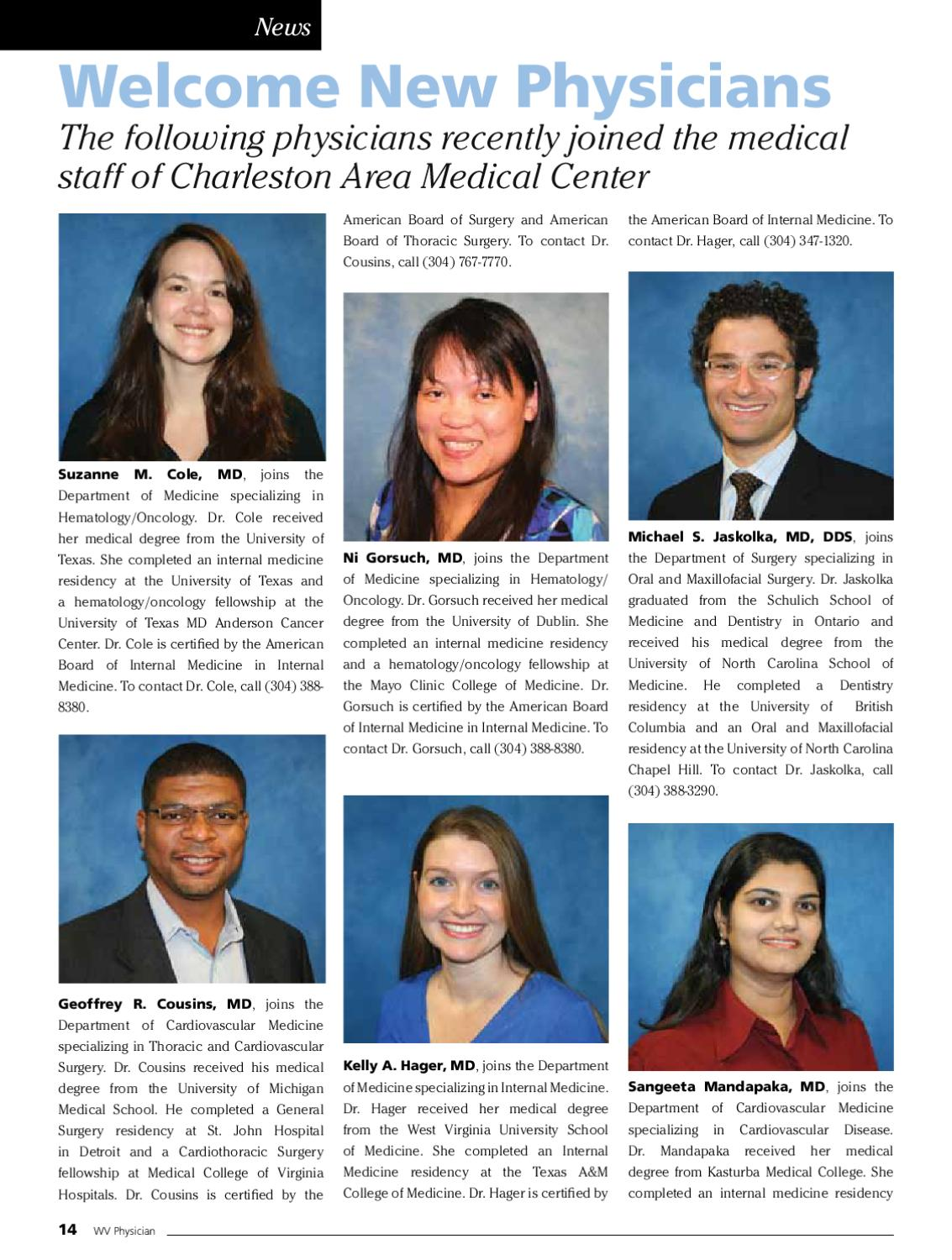 WV Physician Magazine Volume 1, Issue 4 by P  J  Hutton - issuu