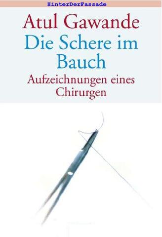 Atul Gawande - Die Schere im Bauch by Multi Wissen - issuu