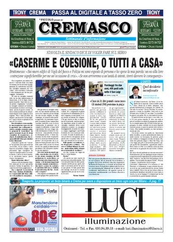 Il Piccolo del Cremasco by il piccolo giornale di Cremona - issuu 7dbc31c65599