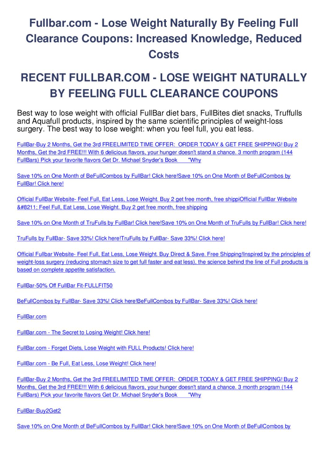 How to lose weight naturally in 3 months