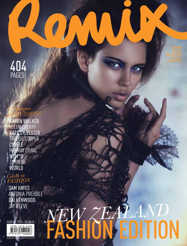 e0aefa6a8 REMIX Magazine - Fashion Issue (#67 NZ) by Remix - issuu