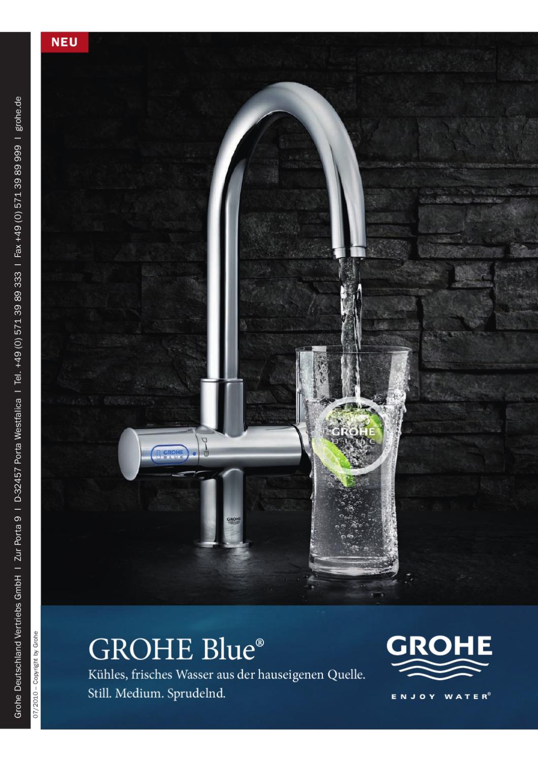 grohe blue grohe red by grohe issuu. Black Bedroom Furniture Sets. Home Design Ideas