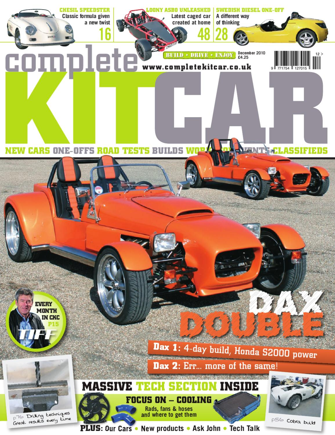 Complete Kit Car magazine <MONTH> 2010 Preview by Performance ...