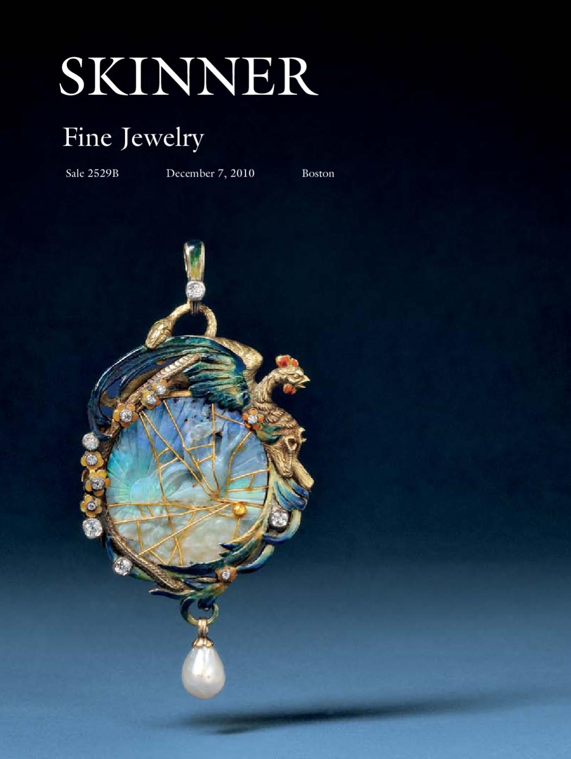 Fine jewelry skinner auction 2529b by skinner inc issuu for Nancy b fine jewelry