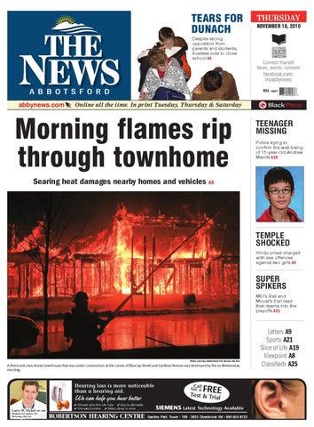 Thur nov 18 2010 by abbotsford news issuu page 1 sciox Choice Image