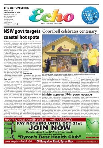 a90c813603 Byron Shire Echo – Issue 24.20 – 20 10 2009 by Echo Publications - issuu