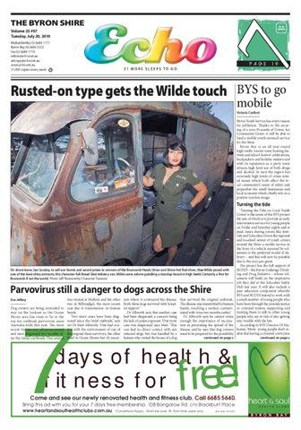 8ed8fba64ce Byron Shire Echo – Issue 25.07 – 20 07 2010 by Echo Publications - issuu