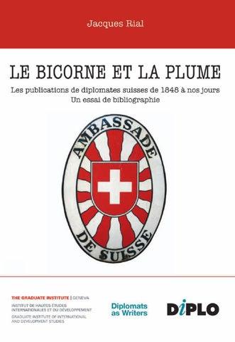 Le Bicorne Et La Plume By DiploFoundation