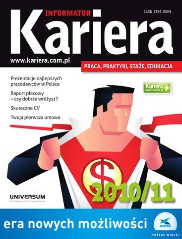 Informator Kariera 20102011 By P B Issuu
