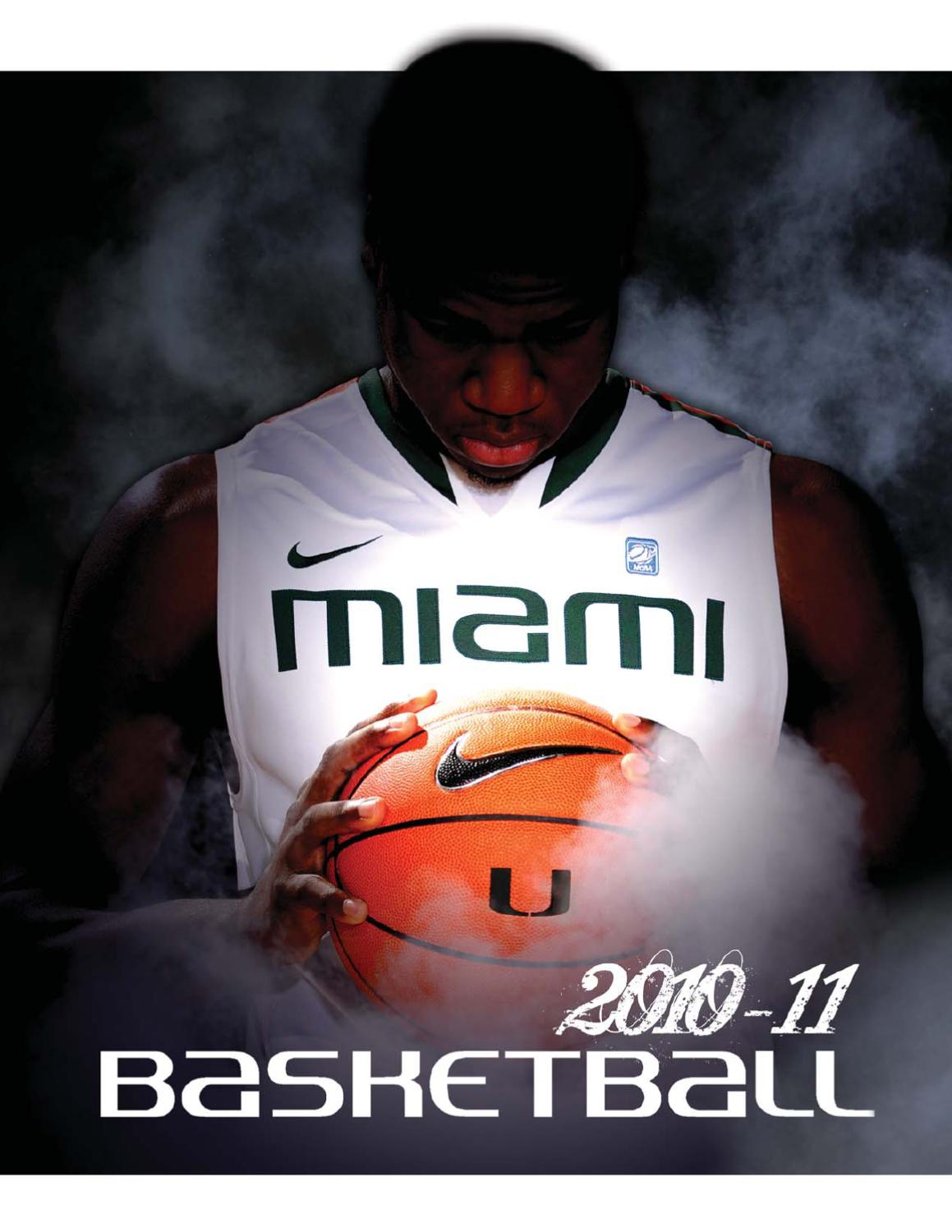 newest b72a0 61f7a 2010-11 University of Miami Mens Basketball Media Guide by Miami  Hurricanes - issuu