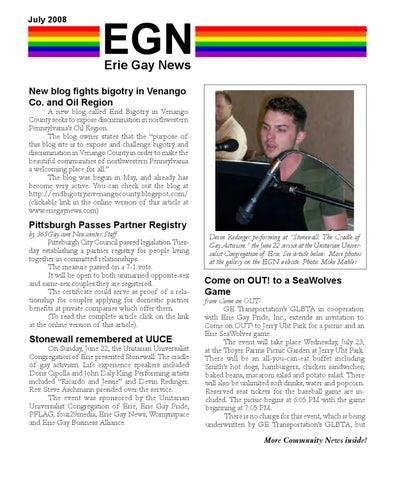 Pittsburgh gay blog phrase