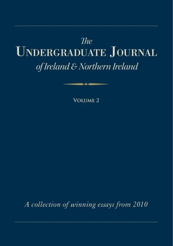The Undegraduate Journal by Gearoid O Rourke - issuu 2f79b8c66