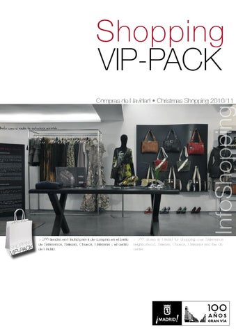 Shopping VIP-PACK by MADRID SHOPPING TOUR - issuu ffd814783b7