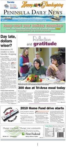 2c65ba375bb4 PDN11252010j by Peninsula Daily News   Sequim Gazette - issuu