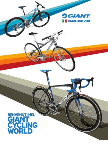 Giant Italia Catalogo 2011 - Giant Bicycles 2011 Catalogue Italian ... 413a191565f