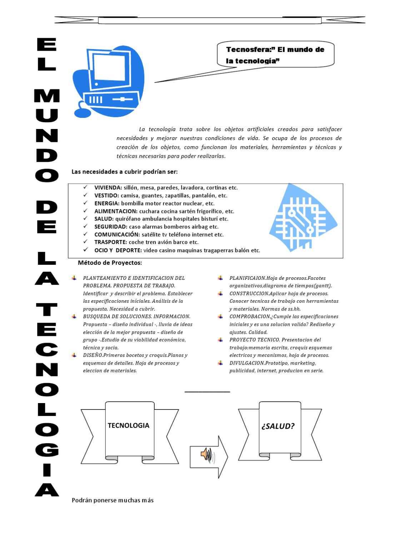 El mundo de la tecnología by Miguel de Cervantes Saavedra - issuu