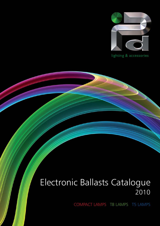 Electronic Ballast EL3//4X18s
