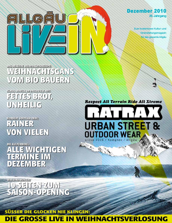 Allgäu Live In (12.2010) by Live In Verlag - issuu