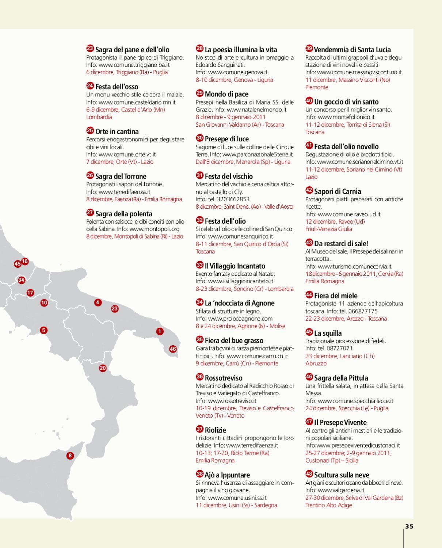 Comune Di Montopoli Di Sabina vie del gusto dicembre by travelquotidiano - issuu