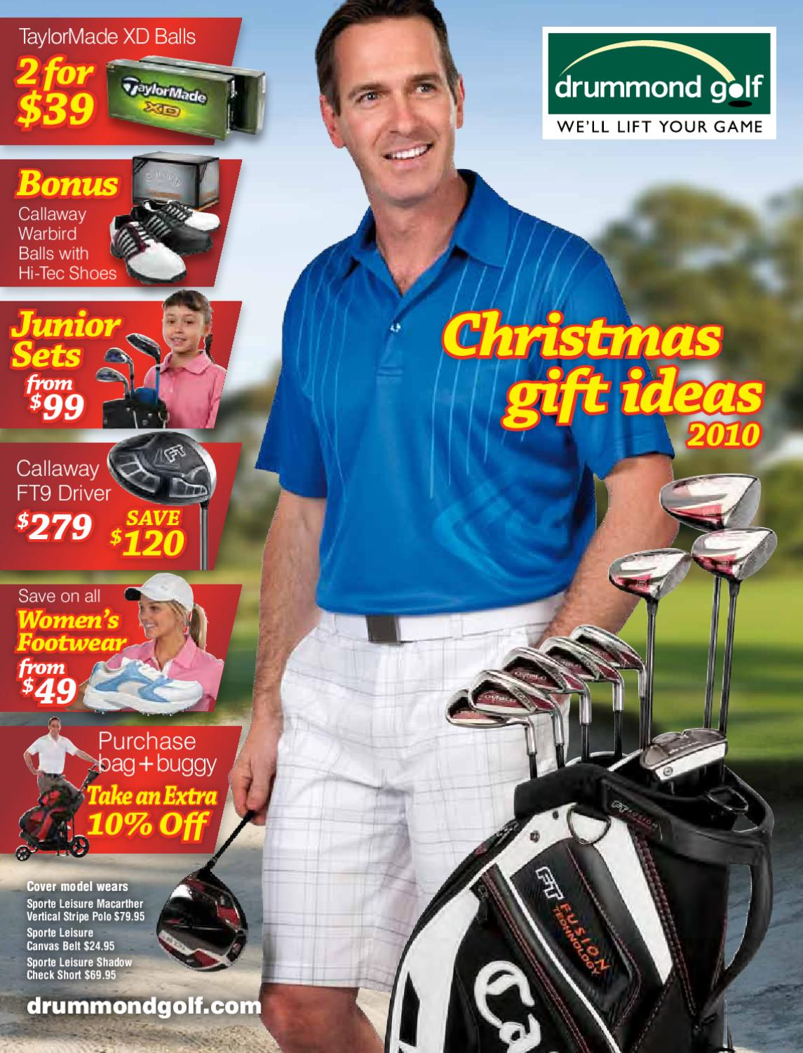 drummond golf christmas catalogue 2010 by drummond golf issuu