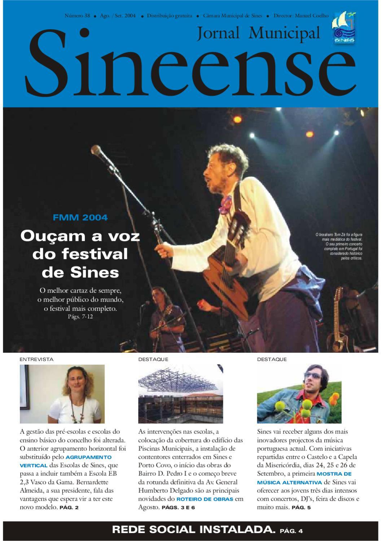 f01fe4d3f2 Sineense 38 by Câmara Municipal de Sines - issuu