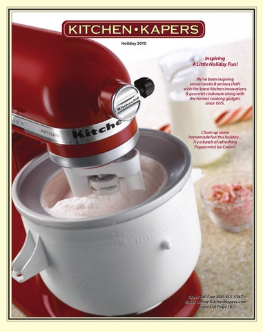 Kitchen Kapers Holiday Catalog 2010 By Kitchen Kapers   Issuu