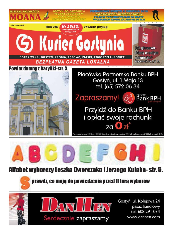 b3e71df3 Kurier Gostynia nr 83 by Adam Wysocki - issuu
