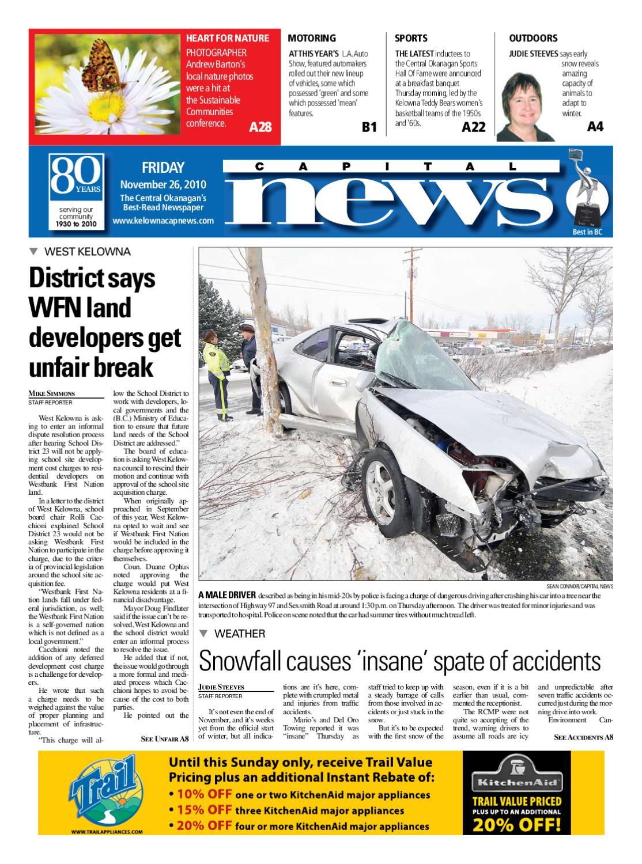 9d09d5e601c Kelowna Capital News 26 Novembr 2010 by Kelowna CapitalNews - issuu