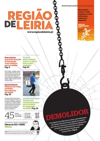 Região de Leiria 26 de Novembro 2010 by Região de Leiria Jornal - issuu c11442a71b323