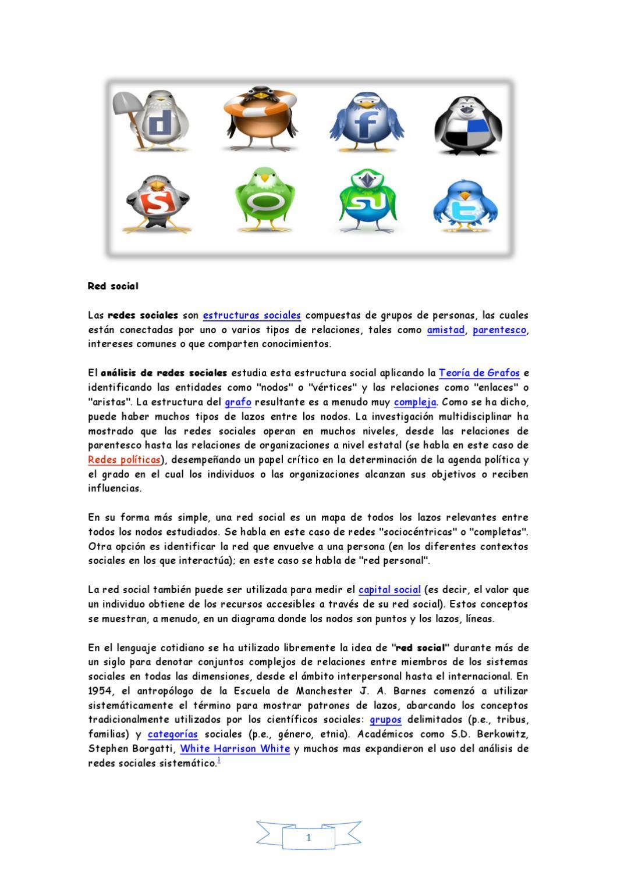 Redes sociales by María Lozano Bujalance - issuu