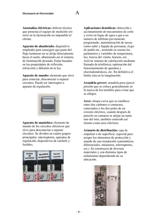 diccionario de electricidad by Miguel Villanueva - issuu