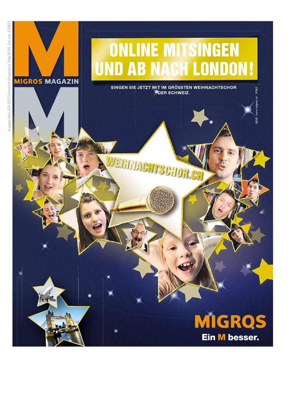 migros magazin 48 2010 d lu by migros genossenschafts bund issuu. Black Bedroom Furniture Sets. Home Design Ideas