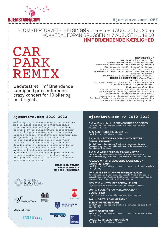 2010hjemstavncomcarparkremixprogram By Jens Frimann Hansen Issuu