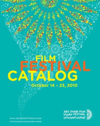 2010 Abu Dhabi Film Festival Catalog English by Abu Dhabi