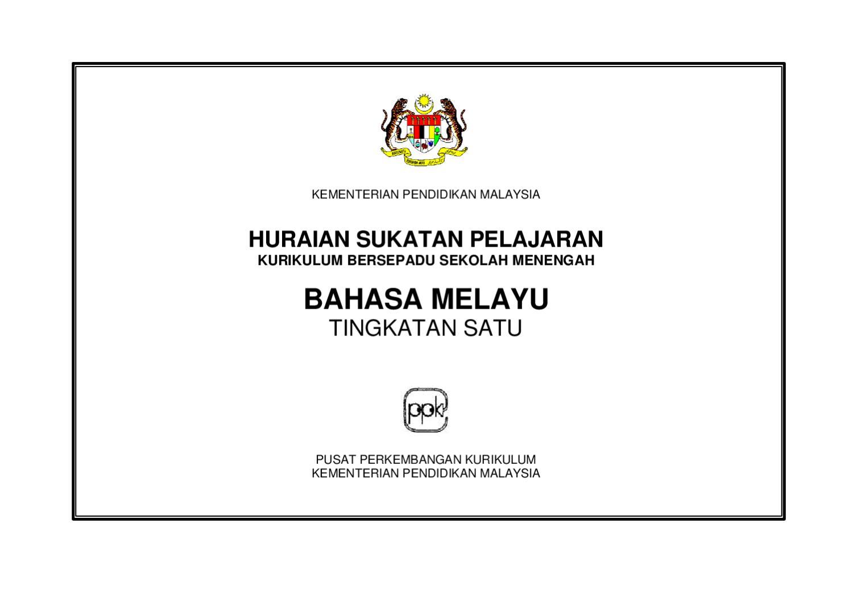 Bahasa Melayu Tingkatan 1 By Lokman Hakim Issuu