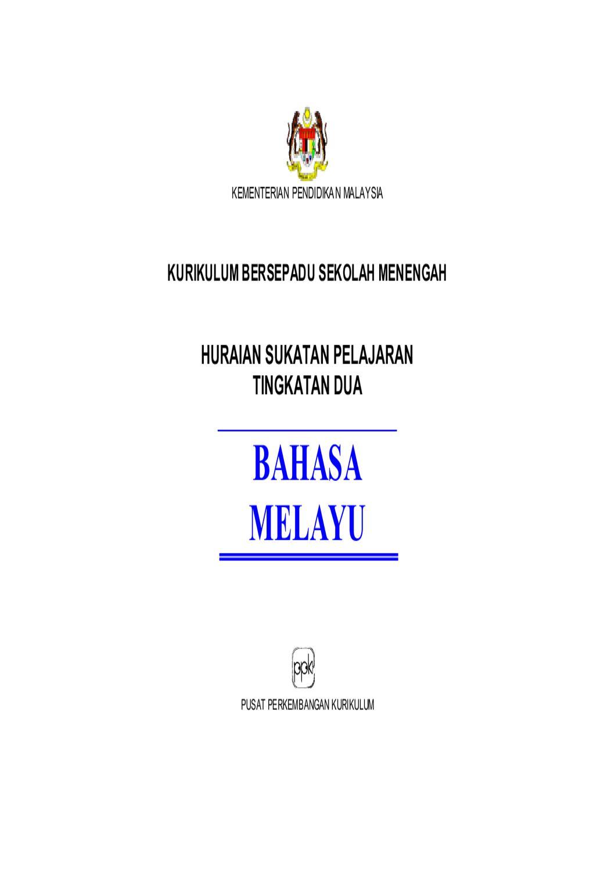 Bahasa Melayu Tingkatan 2 By Lokman Hakim Issuu