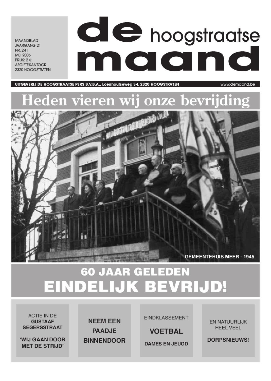 0b9486c1fb2 mei 2005 - De Hoogstraatse Maand by De Hoogstraatse Maand - issuu