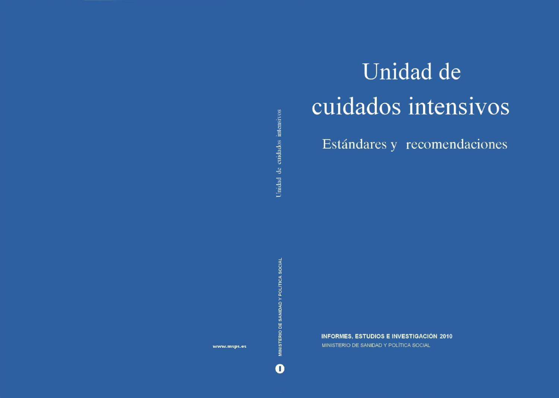 Estandares y Recomendaciones UCI by Formacion Formacion - issuu