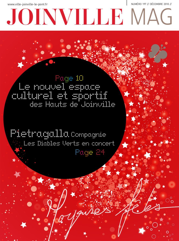Joinville le pont magazine n 197 d cembre 2010 by mairie - Salon des gourmets joinville le pont ...