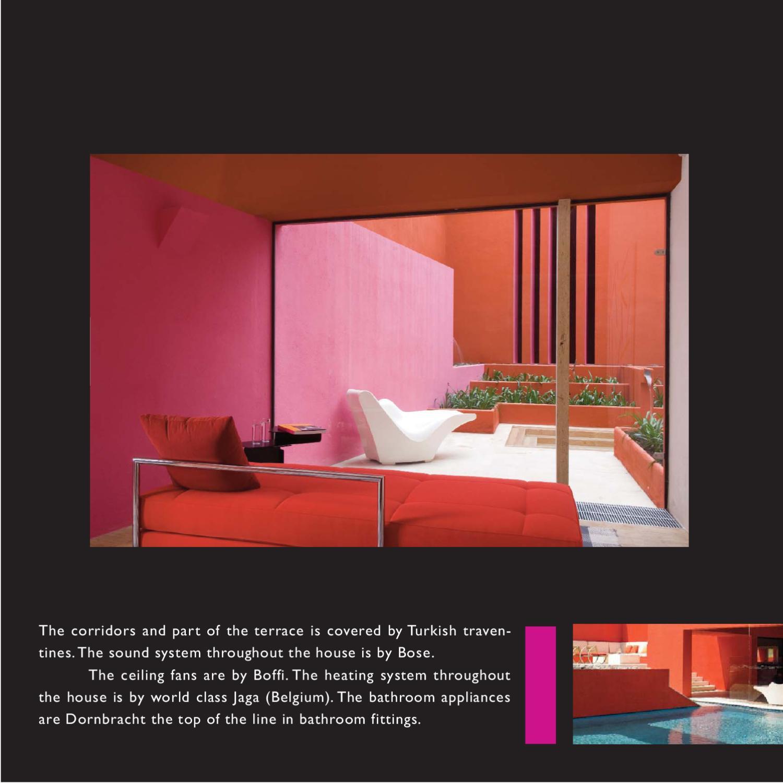 Sotogrande house designed by Ricardo Legorreta
