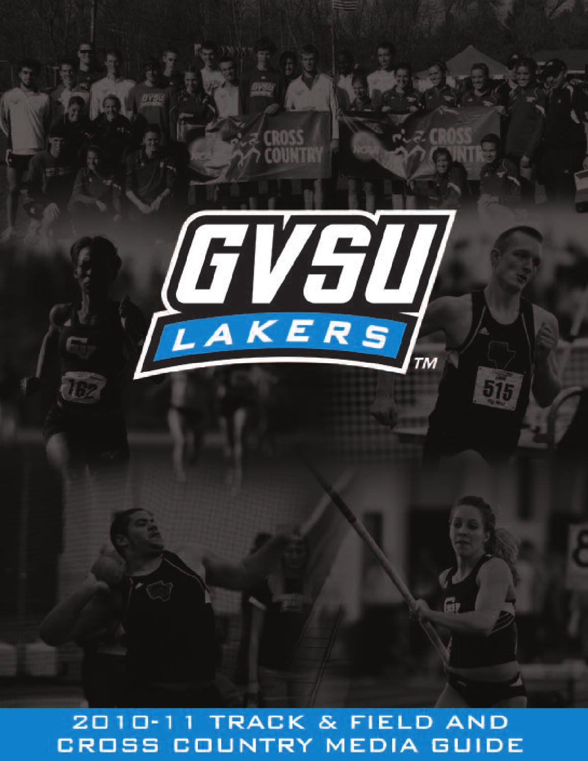 2010 11 Track Field Media Guide By Grand Valley State
