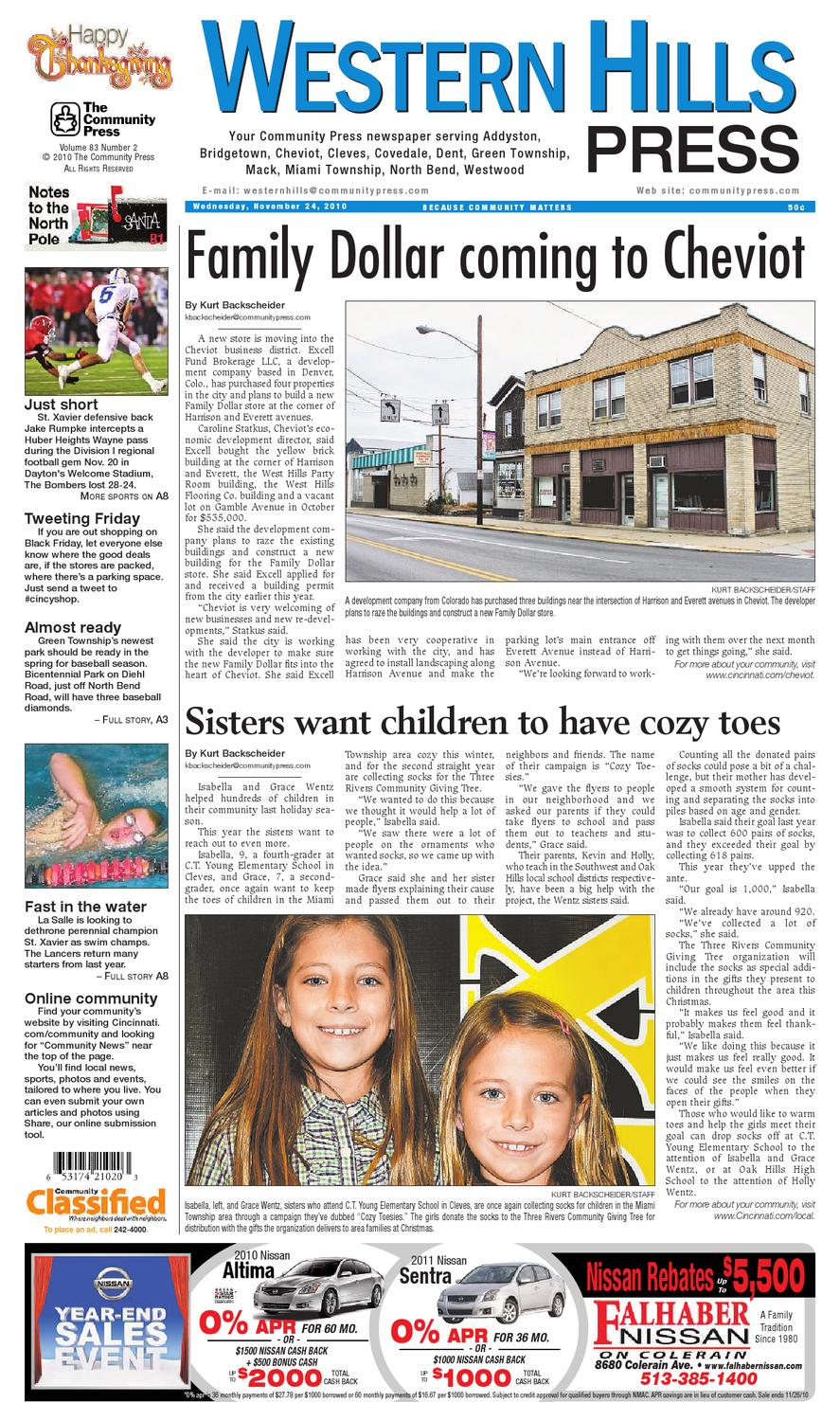 western-hills-press-112410 by Enquirer Media - issuu