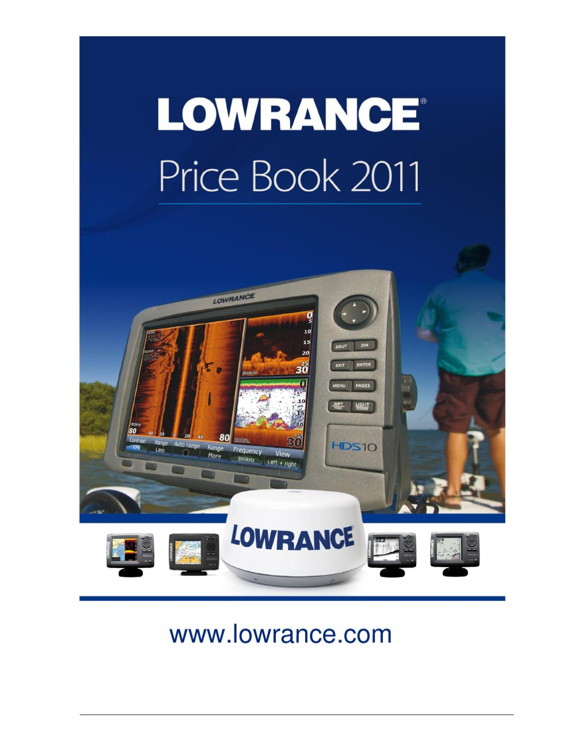 2011 Lowrance Price Book By Roland Silluta Issuu Rj45 Wall Jack Wiring Diagram Also Elite In