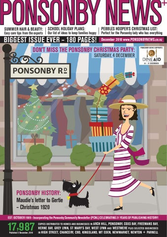 DECEMBER JANUARY  10   11 Ponsonby News by Ponsonby News - issuu a2e4fd481