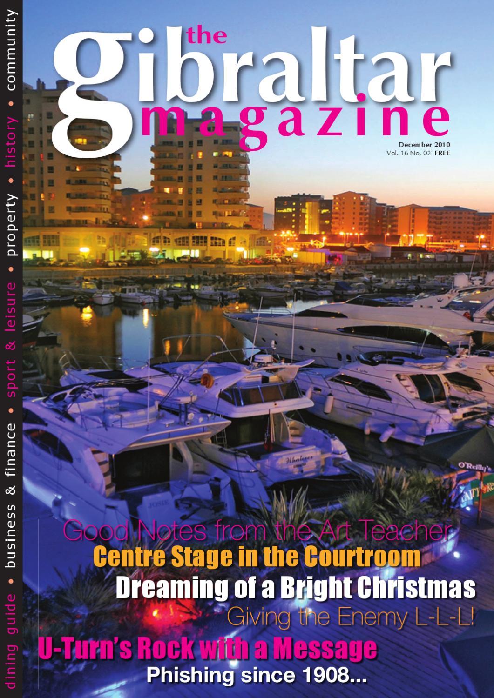The Gibraltar Magazine December 2010 By Rock Publishing Ltd Issuu Eiger Jaket Focus Cokelat J46415